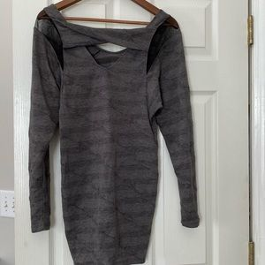 French connection gray dress in sz 4